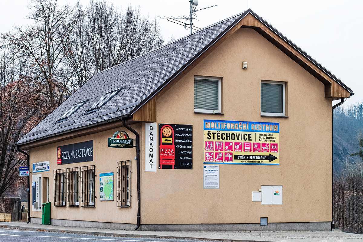 Pizzerie - budova