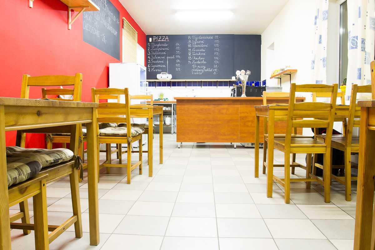 Pizzerie - interiér