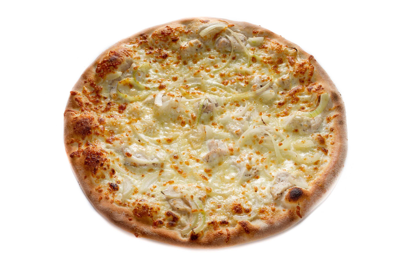 Pizza tuňáková na smetaně