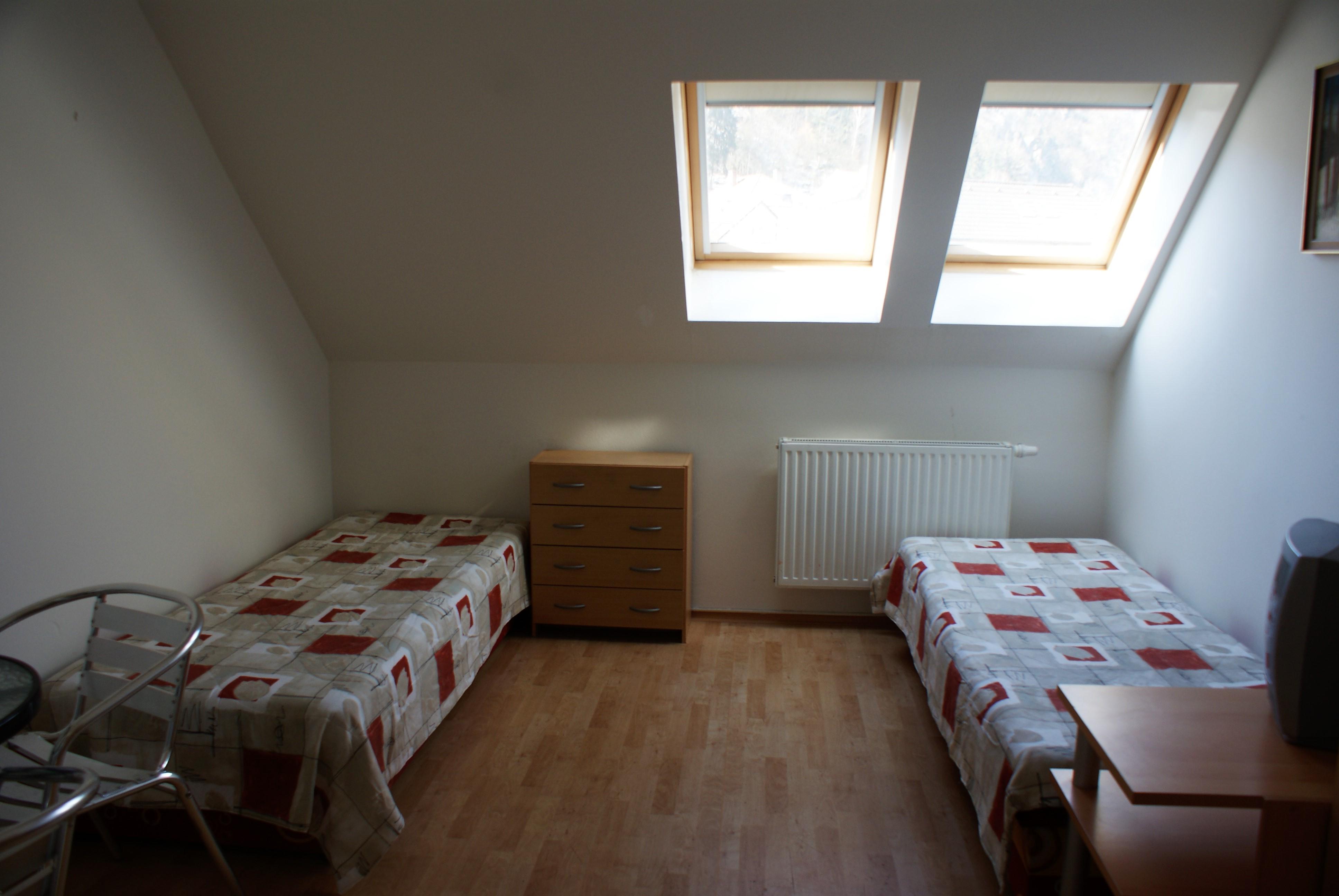 Ubytování - interiér